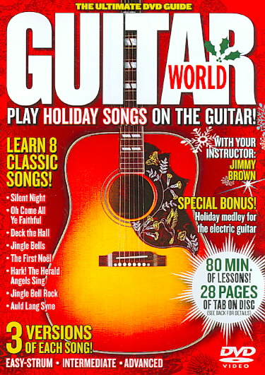 GUITAR WORLD:PLAY HOLIDAY SONGS ON TH BY GUITAR WORLD (DVD)